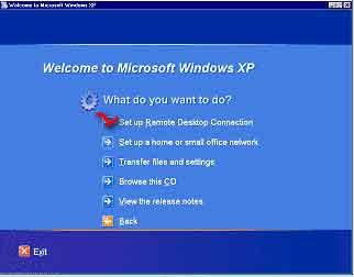 Начало установки Windows XP - Как подключиться к удаленному рабочему столу