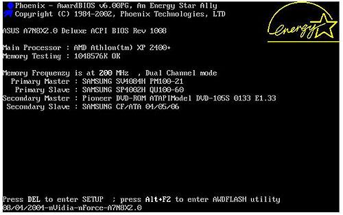 Установка Windows XP на ноутбук - командная строка