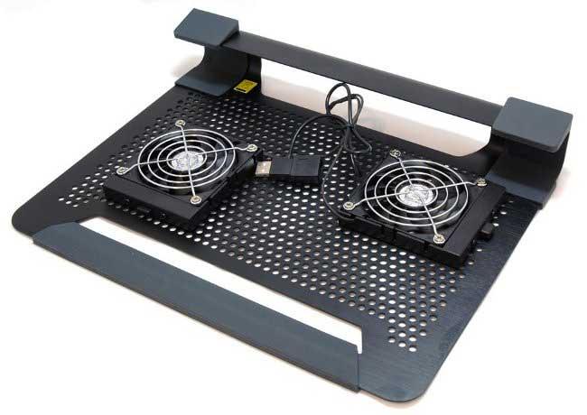 Охлаждающая подставка под ноутбук с передвижными кулерами