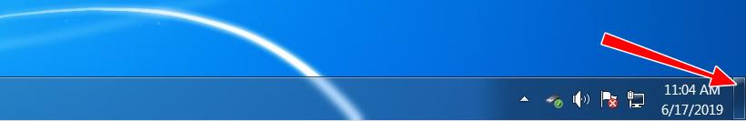 Свернуть окна в Windows 7 мышкой