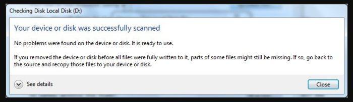 Как убрать битые сектора на жестком диске