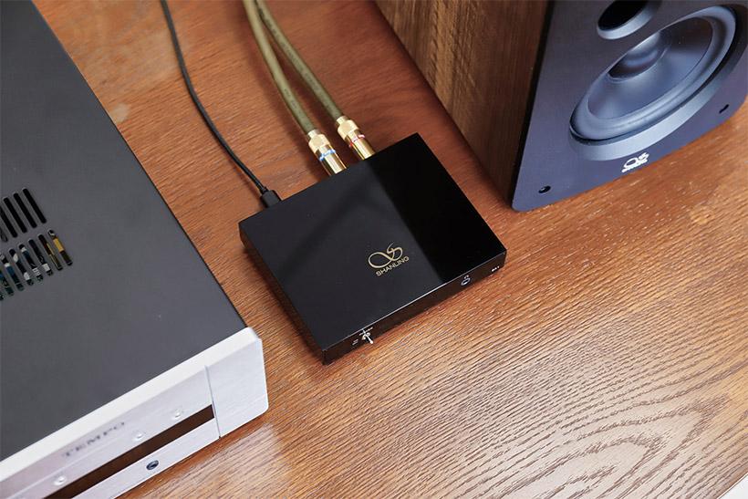 Аудио система с подключенным Bluetooth-ресивером