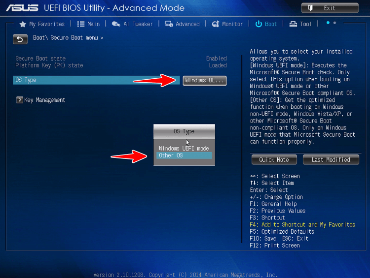 Secure Boot в UEFI BIOS